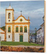 Paraty, Brazil Wood Print