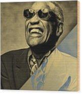 Ray Charles Collection Wood Print