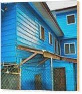 Roatan/house Wood Print