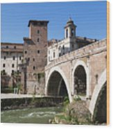 Rome, Italy Wood Print