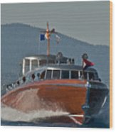 Boat Show Special Wood Print
