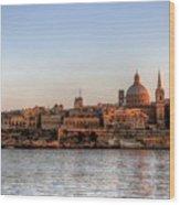 Valletta, Malta Wood Print