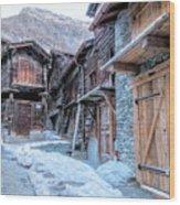 Zermatt - Switzerland Wood Print