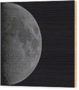 1200mm Moon Wood Print