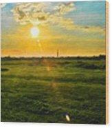 Landscape Paintings Canvas Prints Nature Art  Wood Print