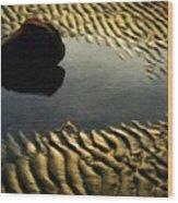 Nature Cool Landscape Wood Print