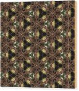 Arabesque 042 Wood Print