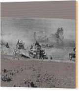 12th Panzer Division On The Move To Stalingrad August 1942 Color Added 2016 Wood Print