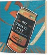 12welve Eyes Wood Print