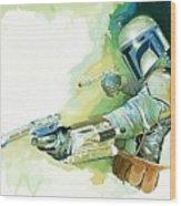 2 Star Wars Poster Wood Print