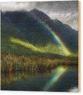 Acrylic Landscape Painting Wood Print