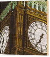 Big Ben In London Wood Print