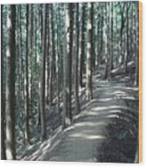 Forestry Wood Print