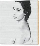 Gal Gadot Print Wood Print