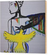 Hope For Peace In South Sudan Wood Print
