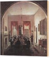 Jlm-1820-henry Sargent-the Dinner Party 782x1024 Henry Sargent Wood Print