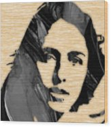 Joan Baez Collection Wood Print