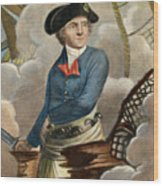 John Paul Jones, 1747-1792 Wood Print