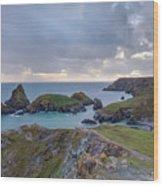 Kynance Cove - England Wood Print