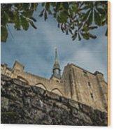 Le Mont Saint Michel Wood Print