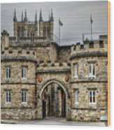 Lincoln England United Kingdom Uk Wood Print