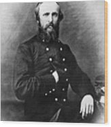 Rutherford B. Hayes Wood Print