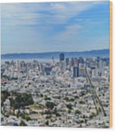San Francisco Skyline  Wood Print
