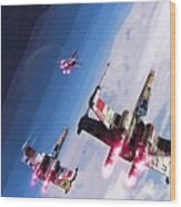 Star Wars Episode 5 Art Wood Print