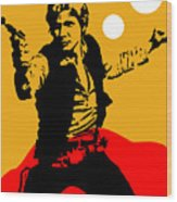 Star Wars Han Solo Collection Wood Print