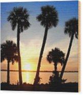 Sunrise / Sunset / Indian River Wood Print