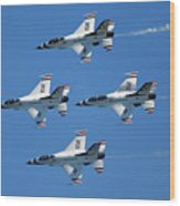 Usaf Thunderbirds Wood Print