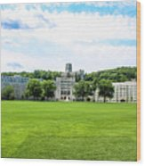 West Point Military Academy Wood Print