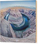 Zion Canyon National Park Utah Wood Print