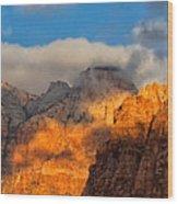 Zion National Park Utah Wood Print