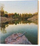 Landscape Nature Pictures Wood Print