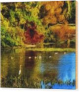 Nature Art Landscape Wood Print