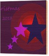 1340 Christmas 2018 Wood Print