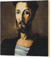 13618 Pere Pruna Wood Print