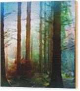 A Landscape Nature Wood Print