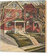 1385 Clara Avenue Wood Print