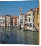 1399 Venice Grand Canal Wood Print