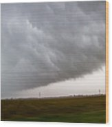 6th Storm Chase 2015 Wood Print