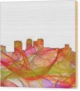 Birmingham Alabama Skyline Wood Print