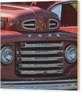 Classic Ford Pickup Wood Print