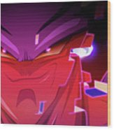 Dragon Ball Super Wood Print