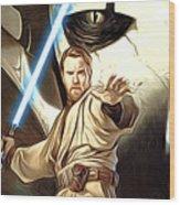 Empire Star Wars Poster Wood Print
