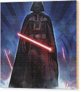Episode 1 Star Wars Poster Wood Print