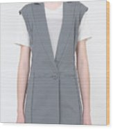 Fashion Clothes Wood Print
