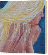Girl Nude Wood Print