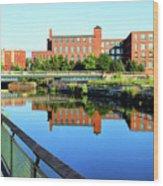 Lowell, Massachusetts Wood Print